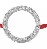 Redline Armband Kreis mit Diamanten 18 Kt Weißgold