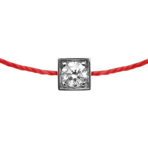 Armband Cube simple 18 Kt Weißgold