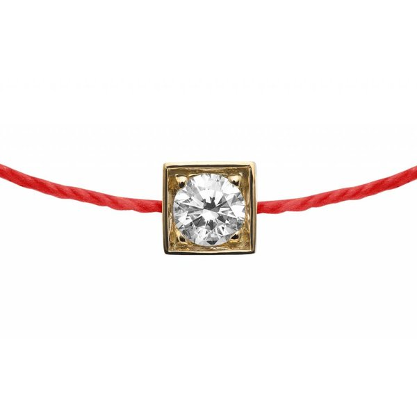 Armband Cube simple Gelbgold
