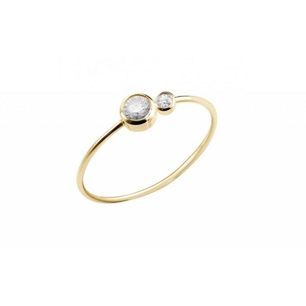 Eternité Ring 18 Kt Roségold