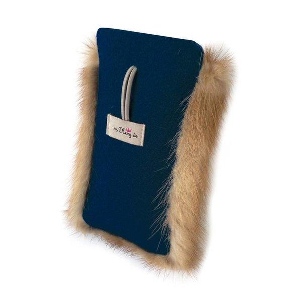 Handy-Tasche dunkelblau