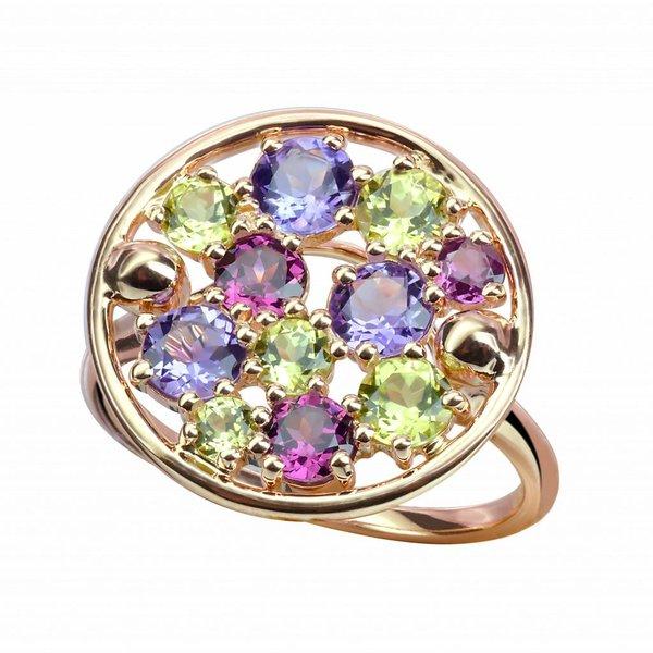 """Ring """"Sac de billes"""" in Rosegold"""