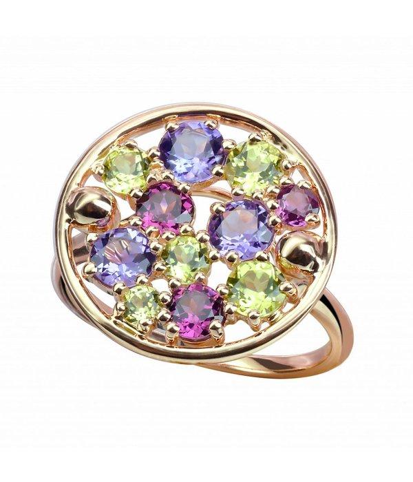 """Isabelle Langlois Ring """"Sac de billes"""" in Rosegold"""