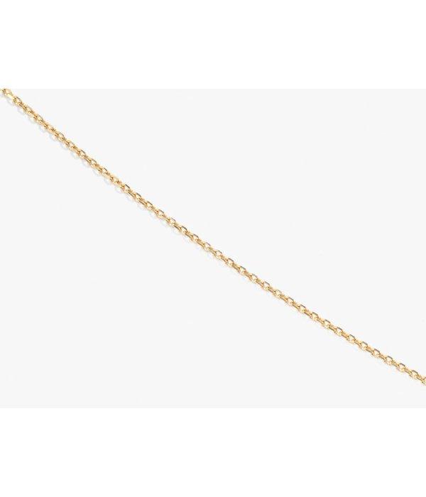 """Aurélie Bidermann Halskette """"FORCAT"""" aus 18 Kt Gelbgold"""