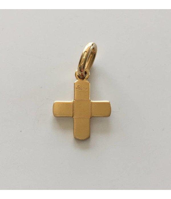 Anhänger Kreuz 18Kt Gold