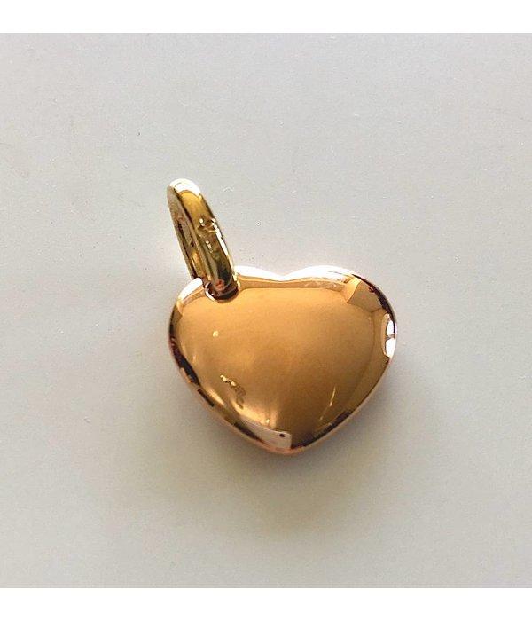 Anhänger Herz 18Kt Gelbgold