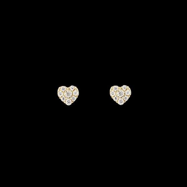 "Diamantohrringe ""Coeur"""