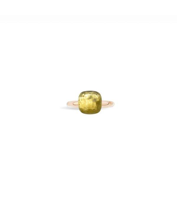 Ring NUDO Zitronenquarz 53