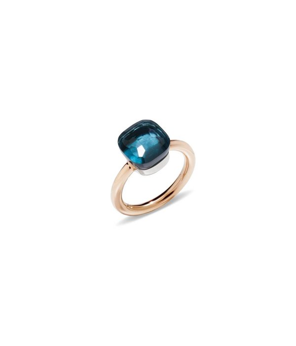 Ring NUDO London Blue Topas 54