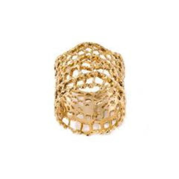 Ring Dentelle Vintage Gelbgold