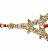 """Redline Armband """"Paris"""" in 18 Kt Gelbgold"""