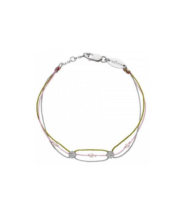 """Redline Armband """"Illusion Etincelant""""in 18 Kt Weißgold"""
