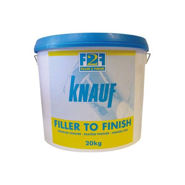 knauf filler to finish pasta emmer 20kg. Black Bedroom Furniture Sets. Home Design Ideas