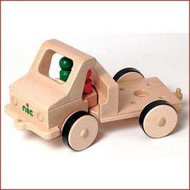 Nic Houten vrachtauto klein