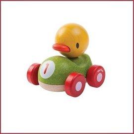 Plantoys Houten racewagen Duck Racer