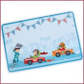 Haba Placemat Raceauto