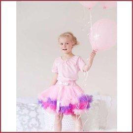 Trullala Petticoat Rock Rosa