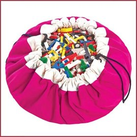 Play & Go Speelgoed opbergzak - Fuchsia