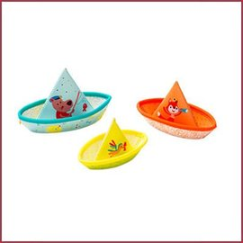 Lilliputiens Waterspeelgoed 3 kleine bootjes