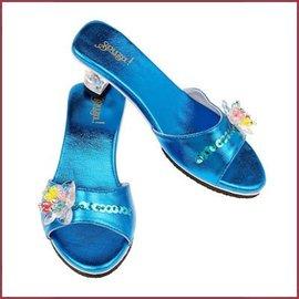 Souza for kids Schoentjes met hakjes Maerle blauw metallic