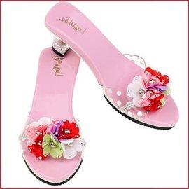 Souza for kids Schoentjes met hakjes Flora pink/multi bloemen