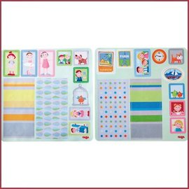 Haba Little Friends poppenhuis decoratie stickers