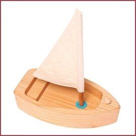 Grimms Grote zeilboot - naturel