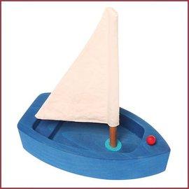 Grimms Grote zeilboot - blauw