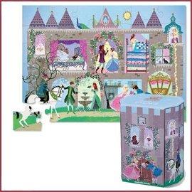 Crocodile Creek Puzzle & Play - Princess Palace 36 stukjes
