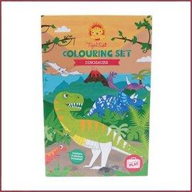 Tiger Tribe Kleurset - Dinosaurus