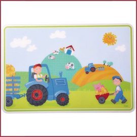 Haba Kinderplacemat Tractor