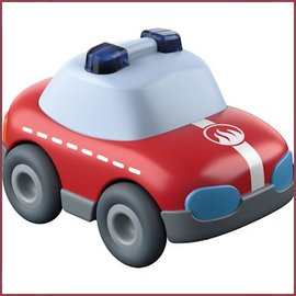 Haba Mijn eerste knikkerbaan Rollebollen - Brandweerauto