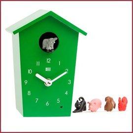KooKoo Klok AnimalHouse - AnimalHouse - Groen
