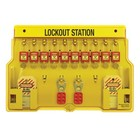 Master Lock Lockout Station 1483BP410