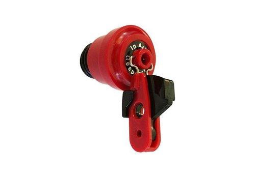 Sperrkappen für Sicherungselementen inkl. Vorhängeschloss-Adapter