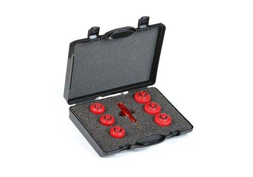 Set Sperrkappen für Sicherungselementen