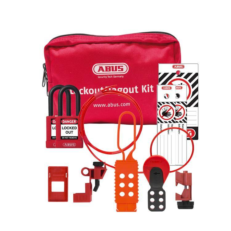 abus gef llte lockout taschen sl bag 120 elektrisch lockout tagout. Black Bedroom Furniture Sets. Home Design Ideas
