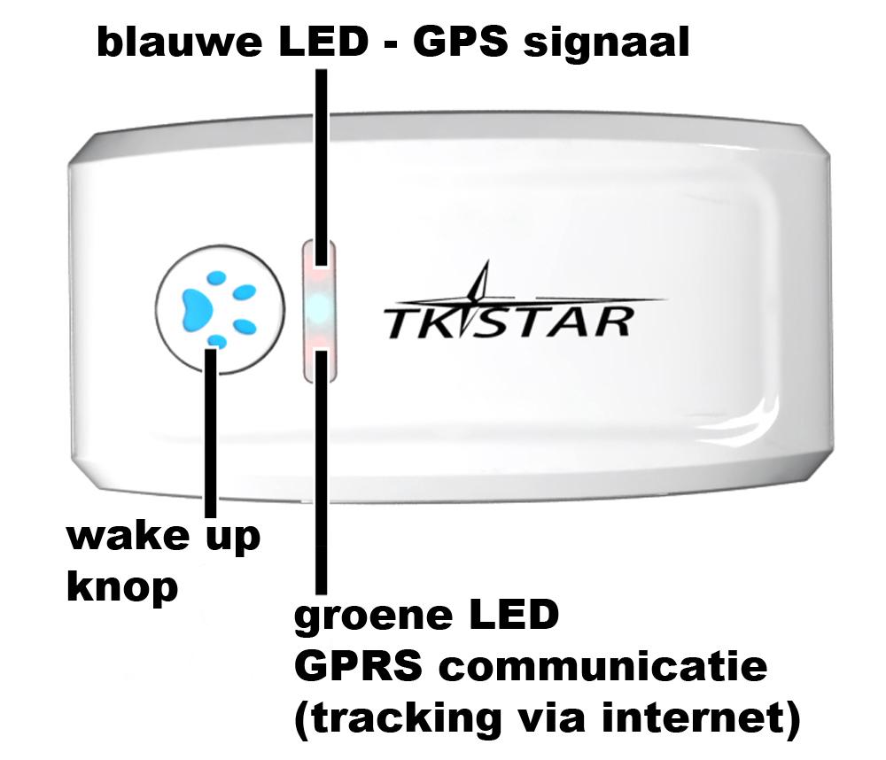 GPS tracker functies