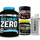 BioTech USA Iso Whey Zero 2270 g + BCAA Flash ZERO 360g + Lucifer Booster!