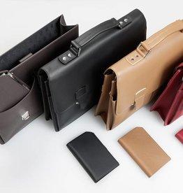 Hochwertige Leder-Businesstasche