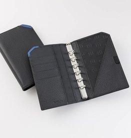 "Lederringbuch ""TeamLine"", 17-mm-Ringmechanik blau"