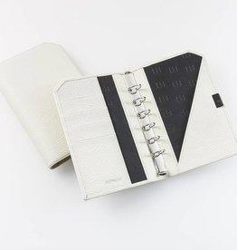 "Lederringbuch ""Classic"", 17-mm-Ringmechanik creme"