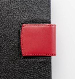 Lederlasche einzeln - rot