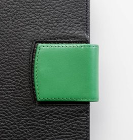 Lederlasche einzeln - grün