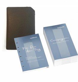 """Tagebuch & """"Classic S"""" schwarz"""