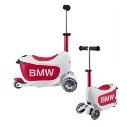 BMW BMW Kids Scooter Wit / Roze