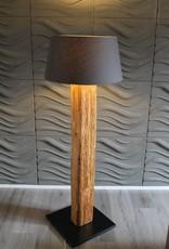 Stehlampe Altholz