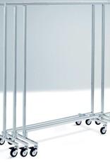 Rollständer stapelbar, H 154 cm, B 130 - 210 cm, T 50 cm