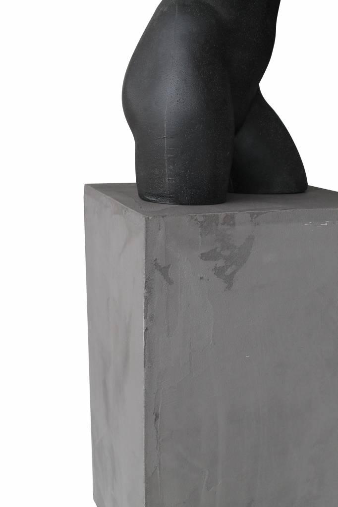 Ausstellungssockel, Präsentationssockel, Skulptur, Schaufenster, Betonoptik