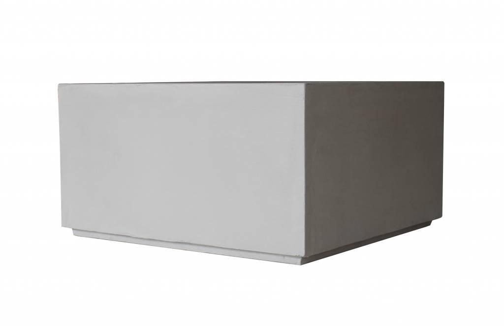Couchtisch Design Industrial, Beton/Holz